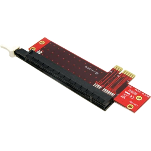 pci express x1. This PCIe x1 to PCIe x16 Slot