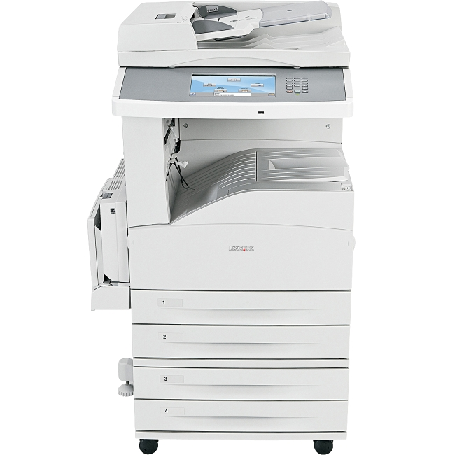 Lexmark Multifunction Printer Government Compliant 19Z4082 X862DTE 4