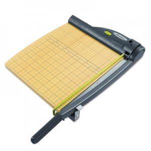 Swingline ClassicCut 15-Sheet Laser Trimmer, Metal/Wood Composite Base,12 x 12 SWI9712 9712