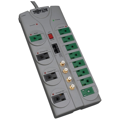 Tripp Lite 12-Outlet Surge Suppressor TLP1210SATG