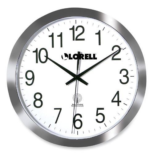 lorell radio controlled clock instructions 60996