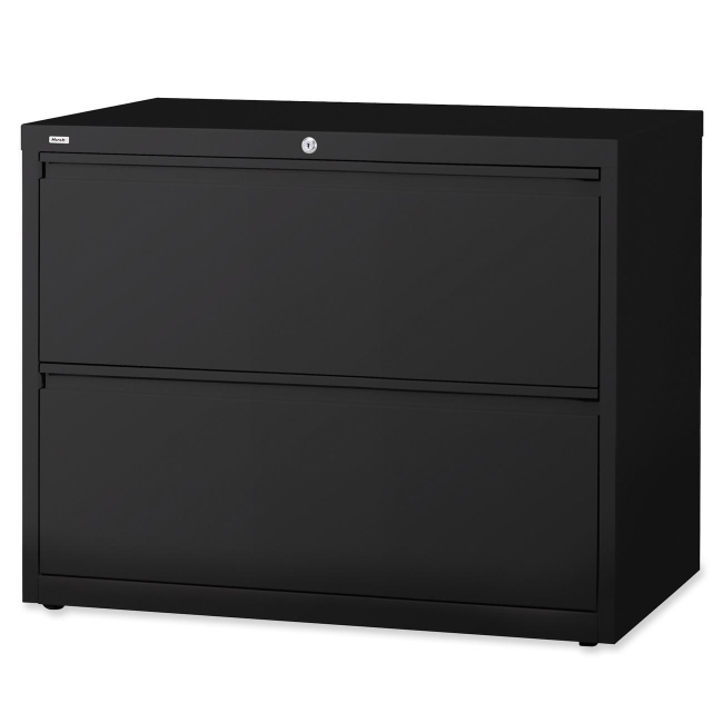 Llr60555 Lateral File Two Drawers With Hanging File Rails For Side
