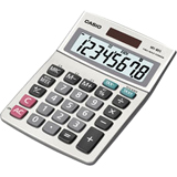 Casio Desktop Basic Calculator MS-80S-S-IH
