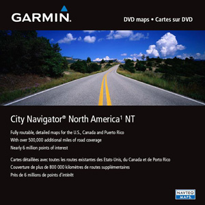 Garmin City Navigator North America NT Digital Map 010-11551-00