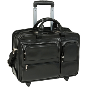 McKleinUSA Clinton P Series Detachable-Wheeled Laptop Case 88445