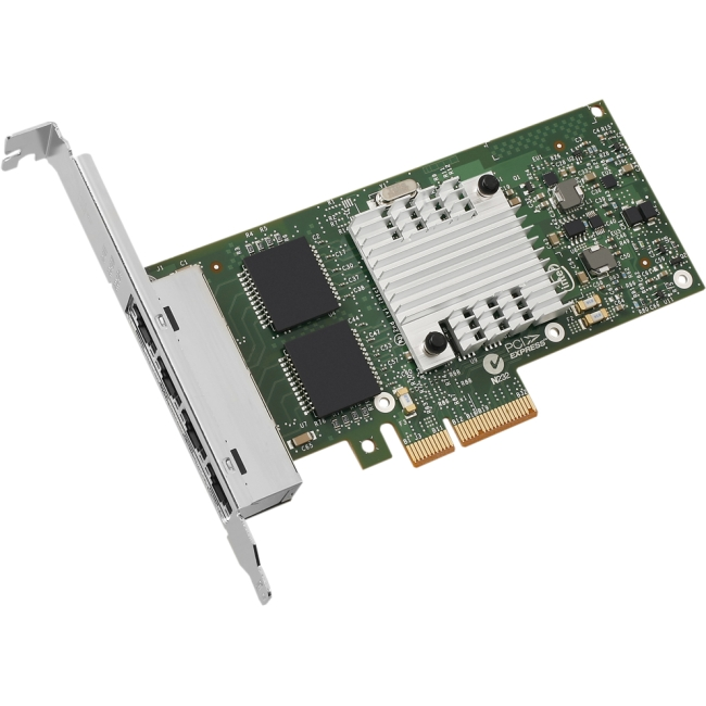 Gigabit Ethernet Networking on Gigabit Ethernet Card Intel E1g44ht I340 Intel Network Interface Cards