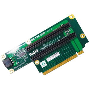 Supermicro 2-port Riser Card RSC-R2UT-2E8R