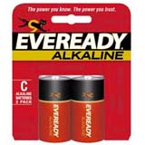 Eveready C Alkaline General Purpose Battery A93BP-2