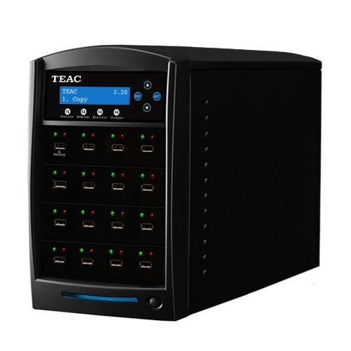 Teac Stand Alone 1 x 15 USB Flash Drive Tower Duplicator USBDUPLICATOR/15