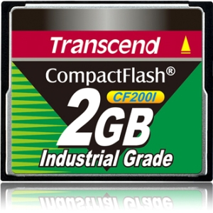 2GB Industrial CompactFlash (CF) Card Transcend Information, Inc TS2GCF200I