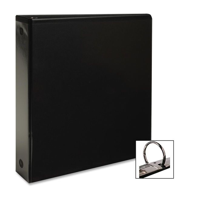 Business Source Round Ring View Binder 09956 BSN09956