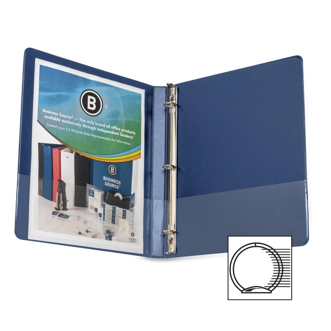 Business Source Round Ring Binder 28525 BSN28525
