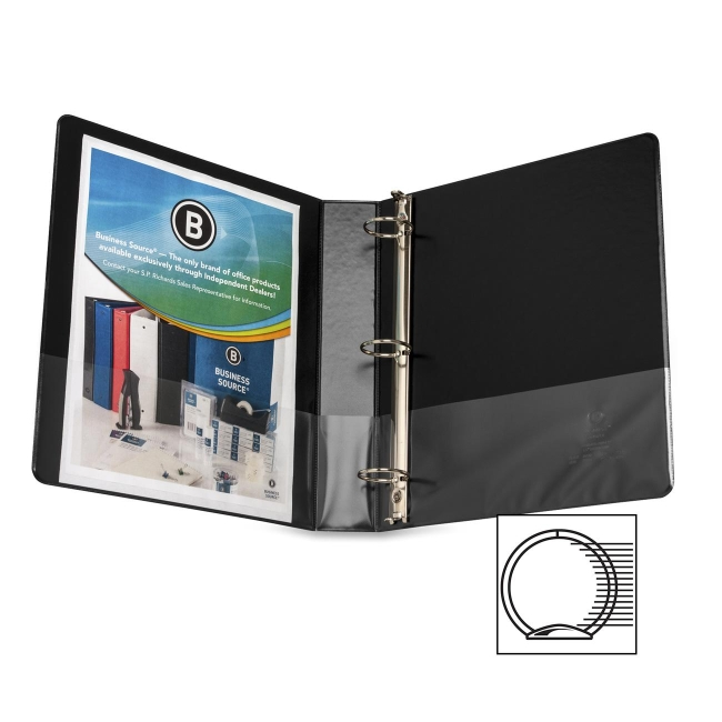 Business Source Round Ring Binder 28552 BSN28552