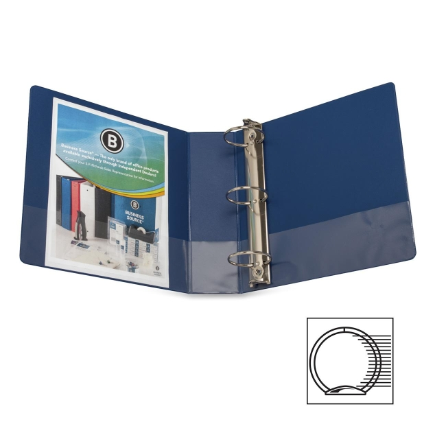 Business Source Round Ring Binder 28661 BSN28661
