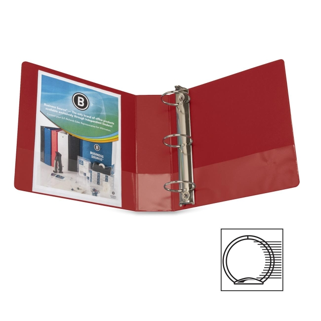 Business Source Round Ring Binder 28770 BSN28770