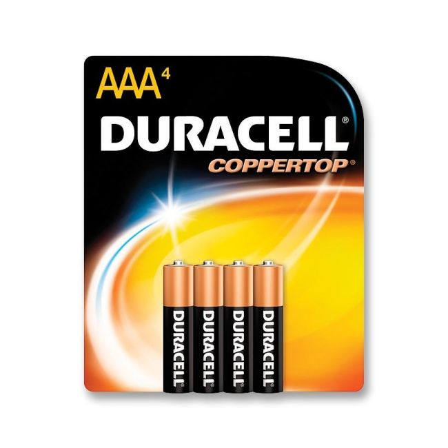 Mr. Clean Duracell Alkaline General Purpose Battery MN2400B4Z DURMN2400B4Z
