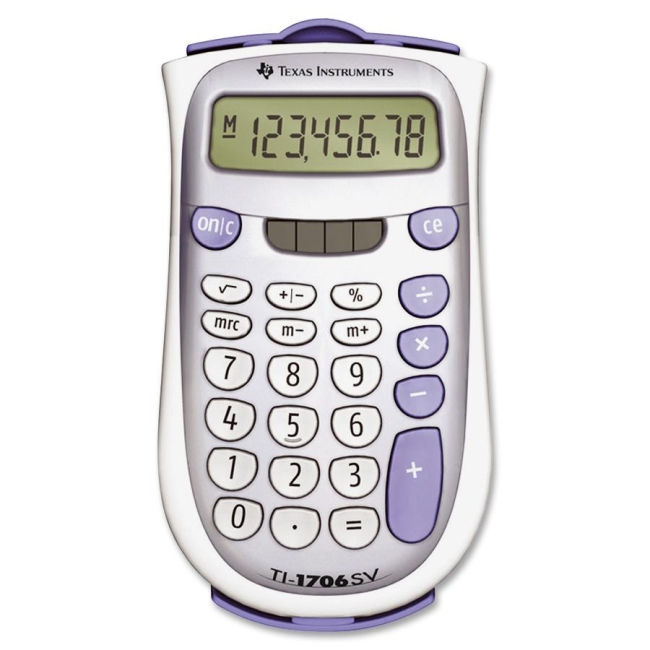 Texas Instruments Handheld Pocket Calculator TI-1706SV TEXTI1706SV