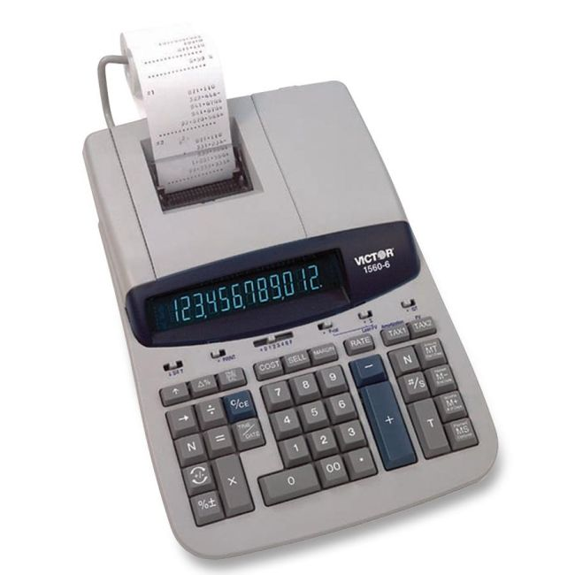 Victor Technology Printing Calculator 1560-6 VCT15606