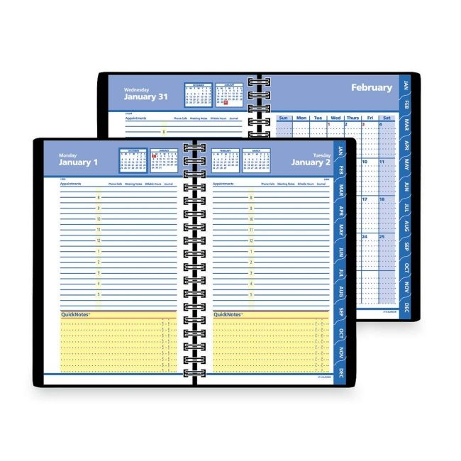 Mead Daily and Monthly Self Management Planner 76-04-05 AAG760405