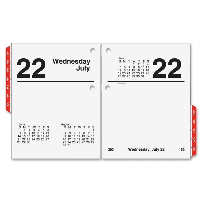 Table Calendar Size : Printer