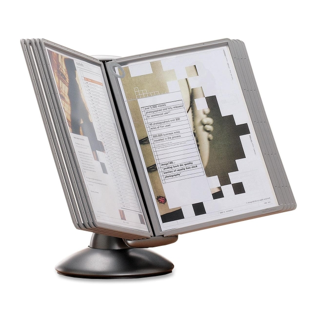 Durable Sherpa Motion Desk Reference System 5539 37 Dbl553937