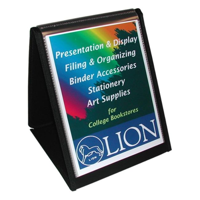 Lion Office Products Flip-N-Tell Display Easel Book 39009-V LIO39009