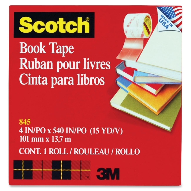 3M Transparent Tape 845-4 MMM8454 8454