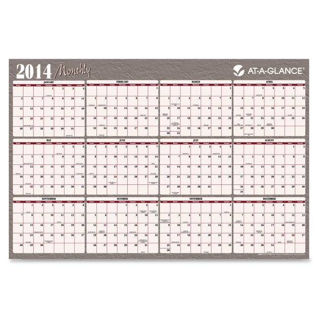 Mead Reversible Monthly Planner A152 AAGA152