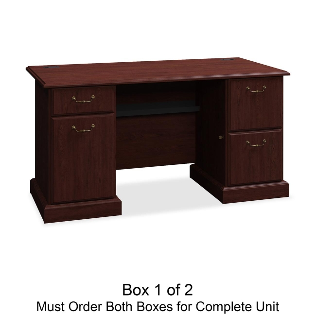 bbf Syndicate Pedestal Desk Box 1 of 2 6360CSA1-03 BSH6360CSA103