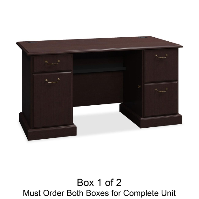 bbf Syndicate Pedestal Desk Box 1 of 2 6360MCA1-03 BSH6360MCA103