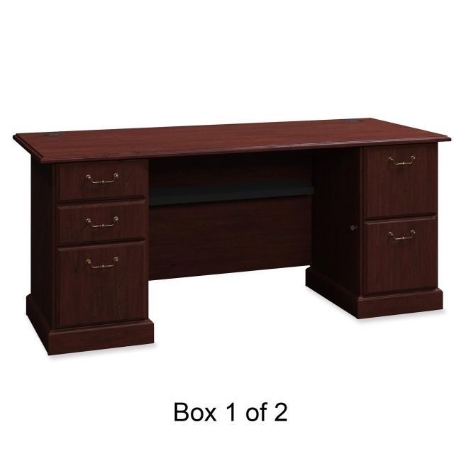 bbf Syndicate Pedestal Desk Box 1 of 2 6372CSA1-03 BSH6372CSA103