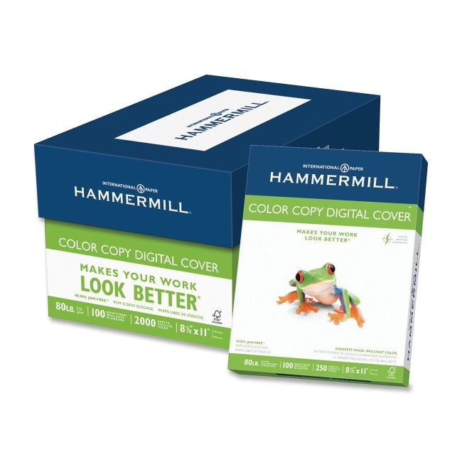 100 color copy cover hammermill lb: