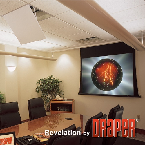 Draper Revelation Projector Ceiling-Recessed Mount with Environmental Airspace Housing 300027 Model A