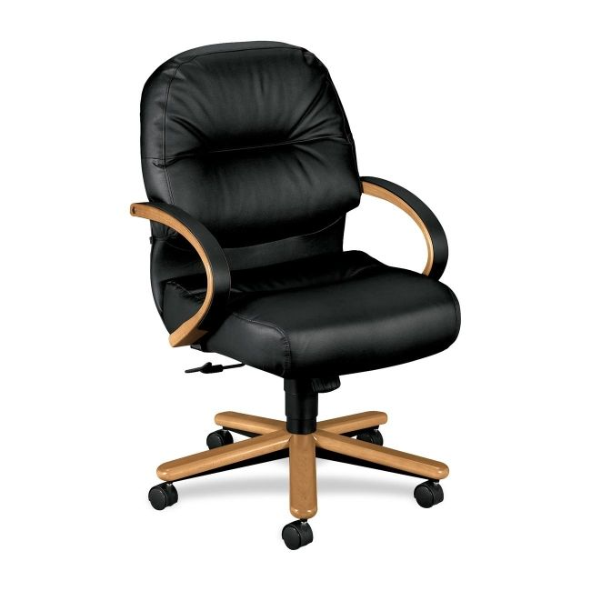 HON Pillow-Soft Mid Back Management Chair 2192CSR11 HON2192CSR11 2192