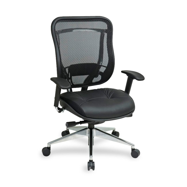 office star mesh back executive chair 818a41p9c1c3 osp818a41p9c1c3