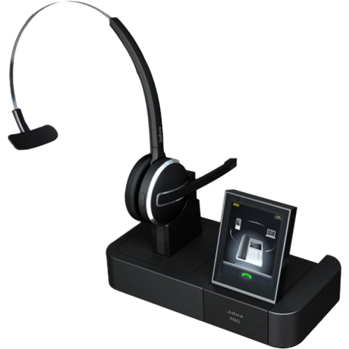 Jabra Pro 9460 Duo Wireless Headset With Touchscreen For: Printer