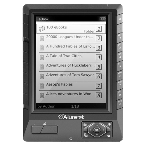 Aluratek LIBRE Digital Text Reader AEBK01FS