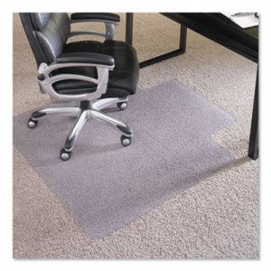 "ES Robbins 45x53 Lip Chair Mat, Performance Series AnchorBar for Carpet up to 1"" ESR124154 124154"