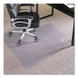 "ES Robbins 36x48 Lip Chair Mat, Performance Series AnchorBar for Carpet up to 1"" ESR124054 124054"