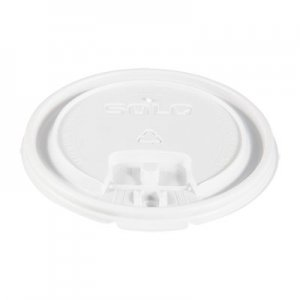 Dart Lift Back and Lock Tab Cup Lids, for 16oz Cups, White, 100/Sleeve, 20 Sleeves/CT SCCLB3161 LB3161-00007