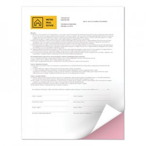 Xerox Revolution Digital Carbonless Paper, 8 1/2 x 11, White/Pink, 5,000 Sheets/CT XER3R12421 3R12421