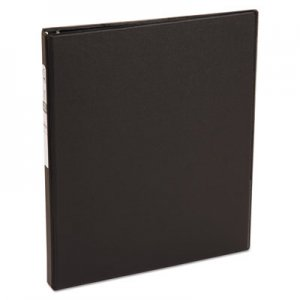 "Avery Economy Non-View Binder with Round Rings, 11 x 8 1/2, 1/2"" Capacity, Black AVE03201 03201"