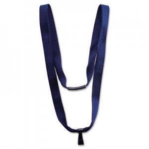 "Advantus Earth-Friendly Lanyard, J-Hook Style, 36"" Long, Blue, 10/Pack AVT75575 75575"
