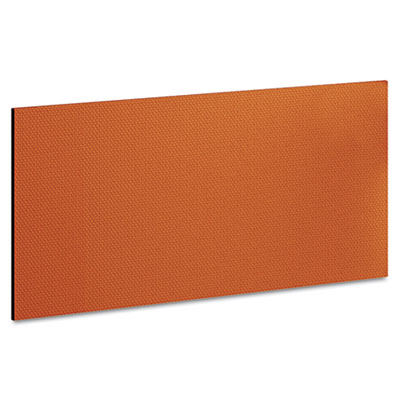 "Bush Momentum Collection Tackboard for 36"" Hutch, 30-7/8w x 5/8d x 14-7/8, Tangerine BSH34TB1OR 34TB1OR"
