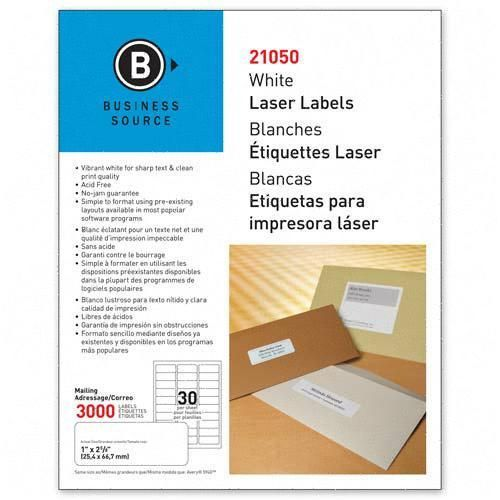 Mailing Laser Label Business Source 21050