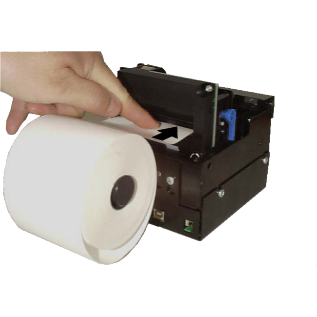 Zebra 112 mm Roll Holder behind with Paper Low Sensor 01123-112