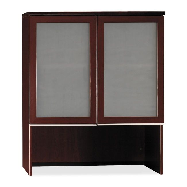 bbf Milano 2 Series Bookcase Hutch with Doors 50HS36CS BSH50HS36CS