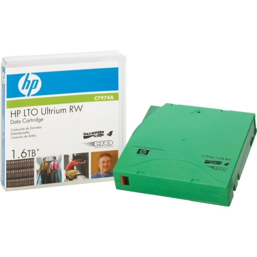 HP LTO Ultrium 4 Data Cartridge with Custom Labeling C7974AF