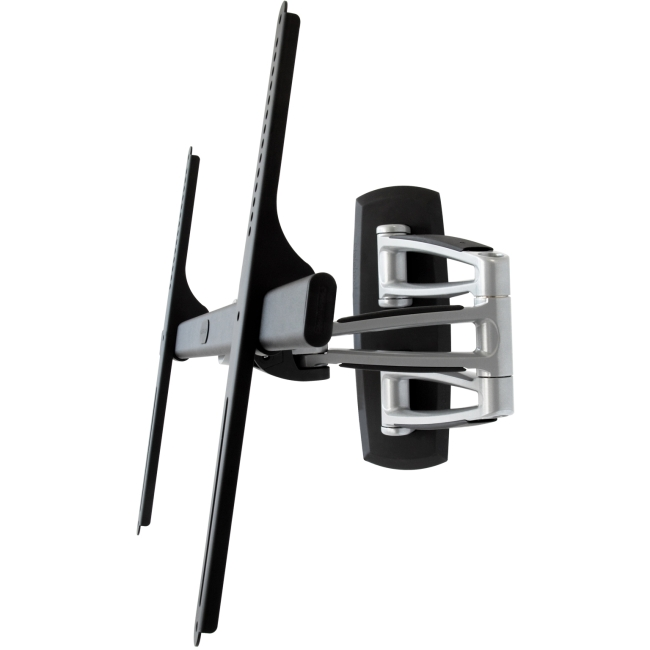 Telehook TH-3270-UFM Universal VESA Full Motion TV Mount Silver with Black TH-3270-UFM-TAA