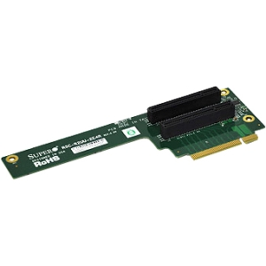 Supermicro 2-port Riser Card RSC-R2UU-2E4R